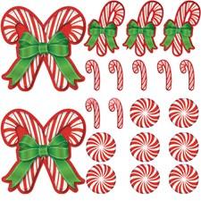 Juledekorasjon Polkagriser 20-pakning