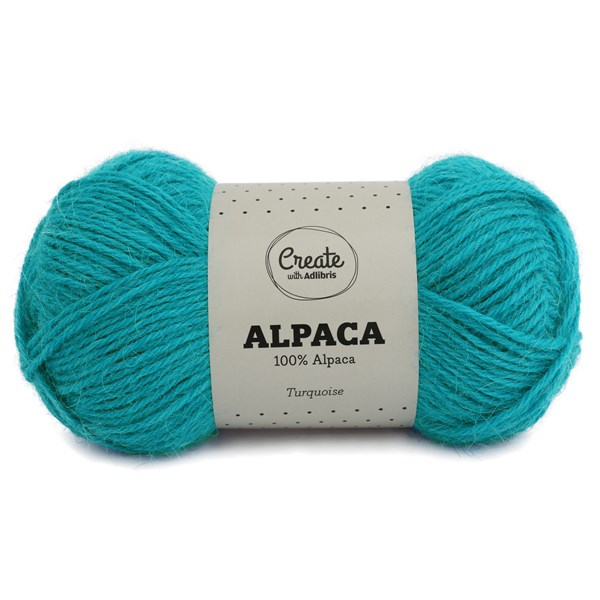 Adlibris Alpaca lanka 50g Turquoise A035