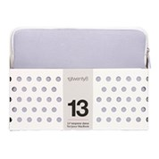 "13"" NEOPRENE 19TWENTY8 SLEEVE LAVENDER/WHITE"