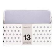 "13"" NEOPRENE 19TWENTY8 SLEEVE LAVENDEL/HVIT"