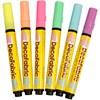 Tuschpennor Textil 3 mm Neonfärger 6 st