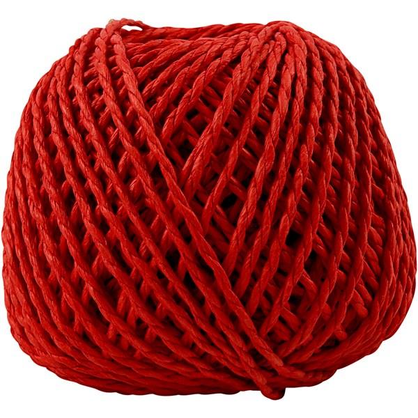 Paperinaru, paksuus 2,5-3 mm, n. 42 m, 150 g, punainen