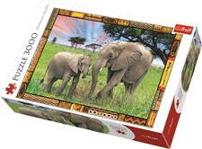 Afrikansk savann, Pussel 3000 bitar