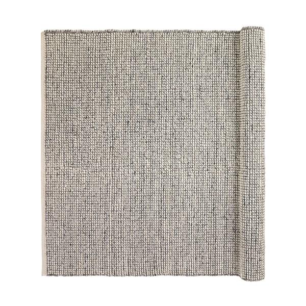 Inget (Storm) Broste Copenhagen Dave Matta Ull/Viscose 200 x 300 cm Grey Melange