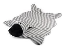 Matta svart/vit Zebra, Form Living