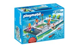 Båt med glassbunn og undervannsmotor, Playmobil Sports & Action (9233)