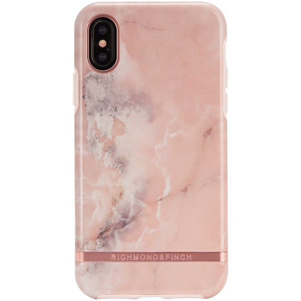 Mobildeksel, Freedom Case, Til Iphone X, Pink Marble, Richmond & Finch
