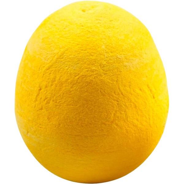 Egg, str. 35 mm, 10 stk., gul
