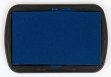 Stämpeldyna till Textil 9,5x6,6 cm Blå