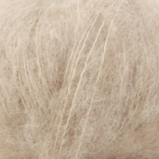 Drops Brushed Alpaca Silk Uni Colour Garn 25 g ljus beige 04