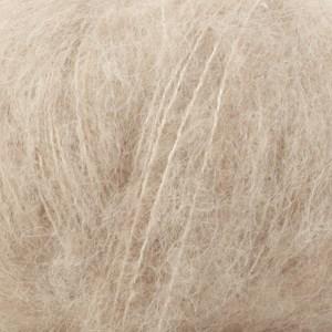 Drops Brushed Alpaca Silk Uni Colour Garn 25 g ljus beige 04