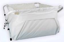 BiBaBad Flexi badkar, 70-90 cm Vit