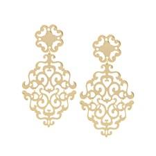 SNÖ of Sweden Rimii pendant ear plain g