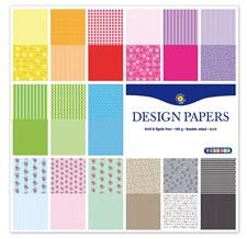 Designlehtiö Playbox 30 sivua, kuviollinen