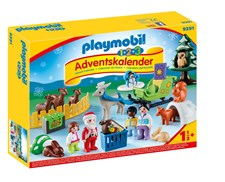 Adventskalender, 1.2.3 Jul i djurens skog, Playmobil (9391)