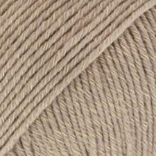 Drops Cotton Merino Uni Colour Garn Ullmix 50g Beige 03