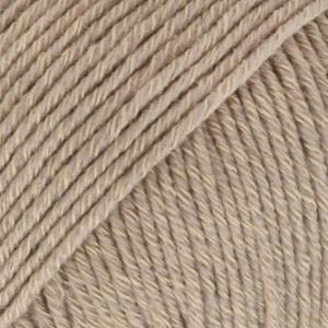 Drops Cotton Merino Uni Colour Lanka Villasekoitus 50g Beige 03