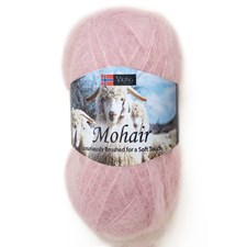Viking of Norway Mohair 50 gr Rosa 366