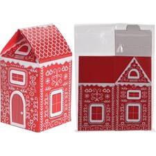 Presentbox Jul laminerad, 5-pack