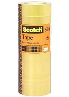 Kontorstejp SCOTCH 508 standard 33mx15mm