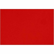 Fransk kartong, 500x650 mm, 160 g, 1 ark, Poppy Red