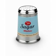 Sukkerstrøer, Retro, Blå, Tala