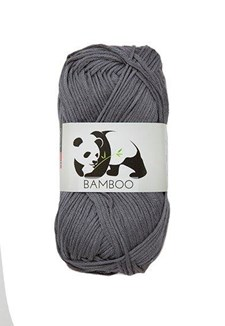 Viking of Norway Bamboo Garn Bomullsmix 50g Grå 615