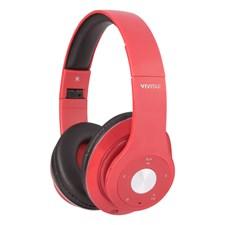 Bluetooth Over Ear Hörlurar, Röd, Vivitar
