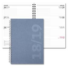 Kalender 18-19 Burde Senator A5 Savanna, blå