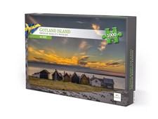 Pussel 1000 bitar, Gotland (EN & SE)