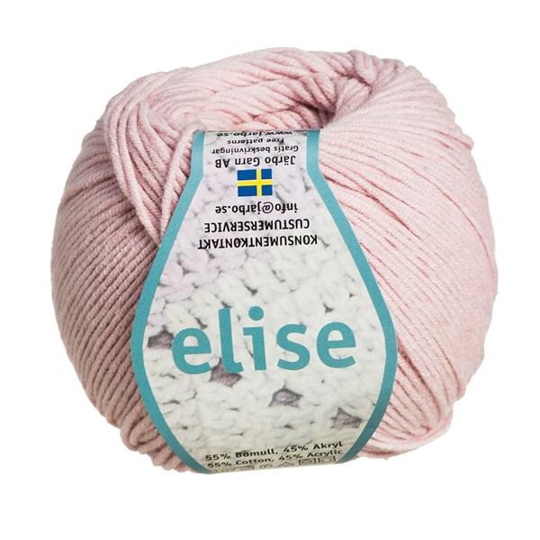 04f1cefdfaa Köp Järbo Elise Garn Bomullsmix 50g, (svart, vit + 22 andra färger ...