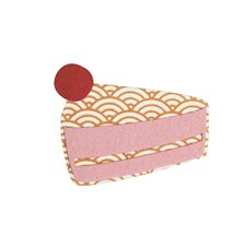 Aplikaatio, Kakkupala, iso noin 11/ 11 cm
