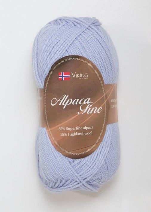 Viking of Norway Alpaca Fine 50 gr laventeli