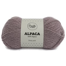 Adlibris Alpackagarn 50g Dusty Pink A008