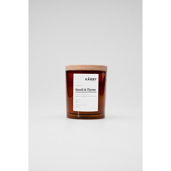 Kårby Organics svartli & Thyme - Original Candle - doftljus & doftpinnar