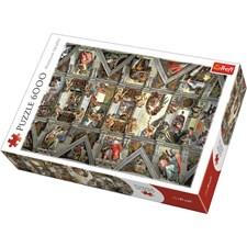 Sistine Chapel, Pussel 6000 bitar