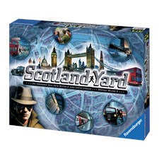 Scotland Yard, Familjespel, Ravensburger (SE/FI/NO/DK)