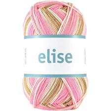 Elise 100g Rose/Beige Print