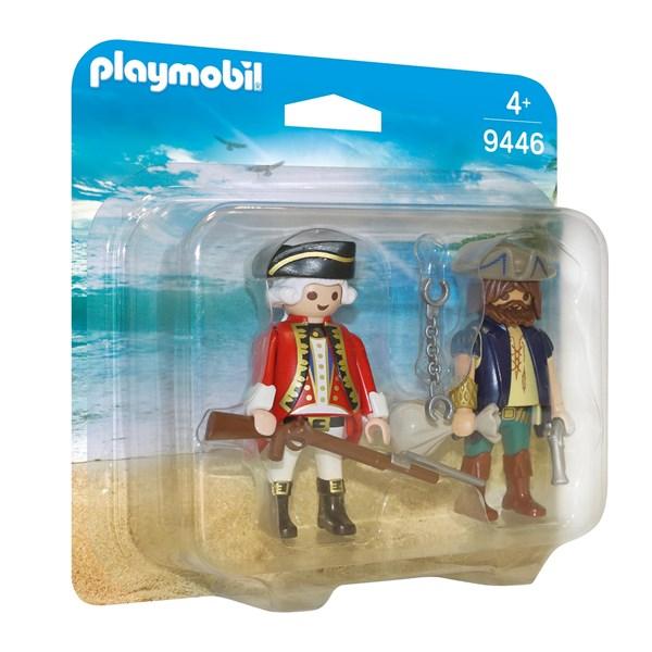 Duopack  Pirat och soldat  Playmobil Pirates (9446) - playmobil