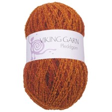 Viking of Norway Pleddgarn 350 gr oranssi