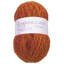 Viking of Norway Pleddgarn 350 gr oranssi