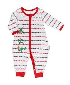 Pyjamas Rutrand, Röd, Pippi Långstrump