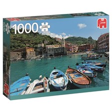 Puslespill, Cinque Terre, 1000 brikker, Jumbo