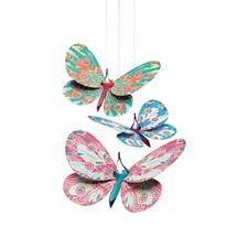 Mobil, Lightweight glitter butterflies, Djeco