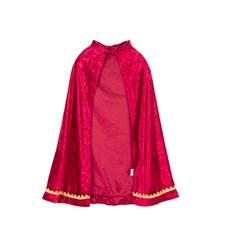 Röd Royal cape,4-8 år