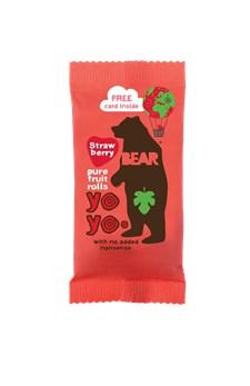 Bear Yoyos Fruktgodis Jordgubb 20 g