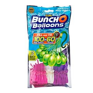 Bunch O Balloons 3-pack  rosa Vit lila  Zuru - uteleksaker & sportleksaker