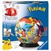 Pokémon boll 3D Pussel 72 bitar Ravensburger