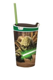 Snackeez 2-i-1 mellanmålsmugg, Yoda, Star Wars