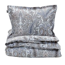 GANT Home Key West Paisley Påslakan 100% Bomull 150x210 cm Grey